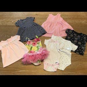 Baby Girl Spring/Summer Bundle 12 months
